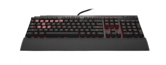 Corsair K70 Red SW Mechanical Gaming Keyboard
